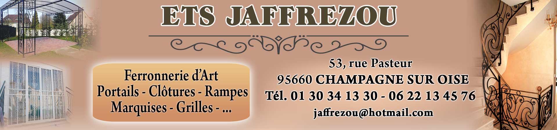 Jaffrezou Ferronnerie d\'Art Val d\'oise (95) Champagne sur Oise